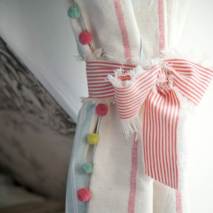 1000 ideas about pom pom curtains on pinterest curtains for Cheap quirky homeware