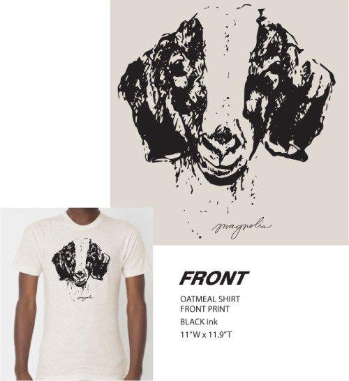 Image result for magnolia goat shirt