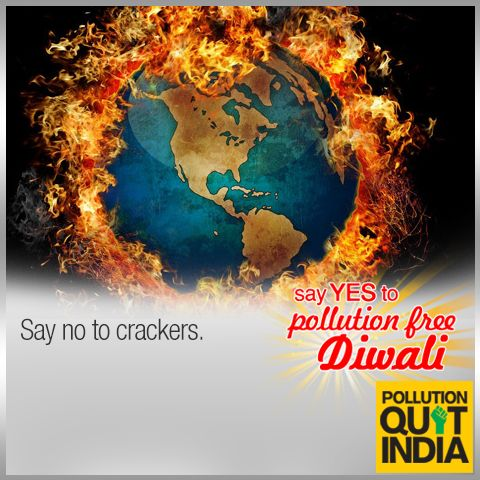 Sure shot ways to a #PollutionFreeDiwali Share your joys.