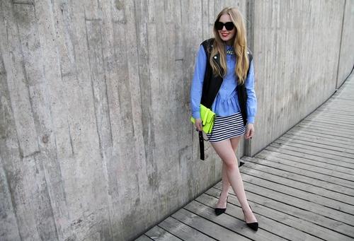 Touch of neon: Engman Fashion, Carolina Engman Outfits, Fashion Squad, Blue Shirts, Nice Get Up, Nice Getup, Shirts 2 0