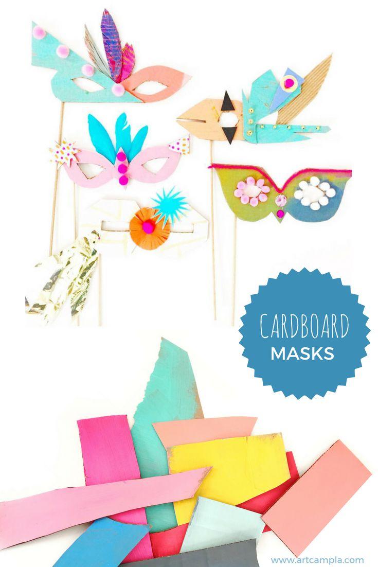 Cardboard Masks To Decorate Best 25 Mardi Gras Mask Template Ideas On Pinterest  Masquerade