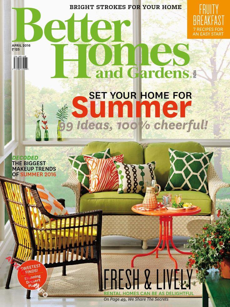 Better Homes Gardens India April 2016