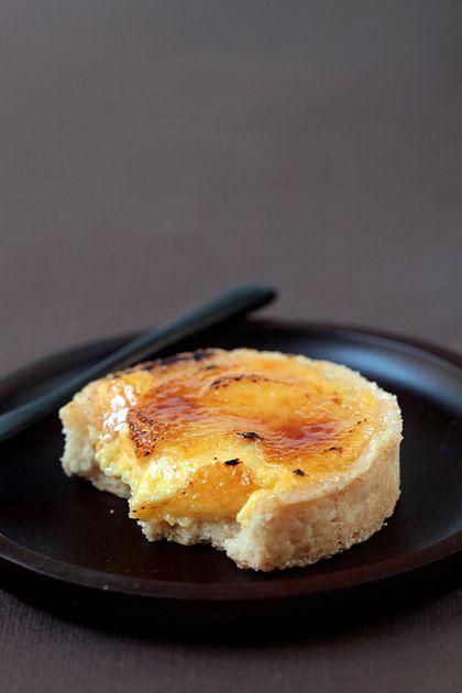 Crostatine all'arancia