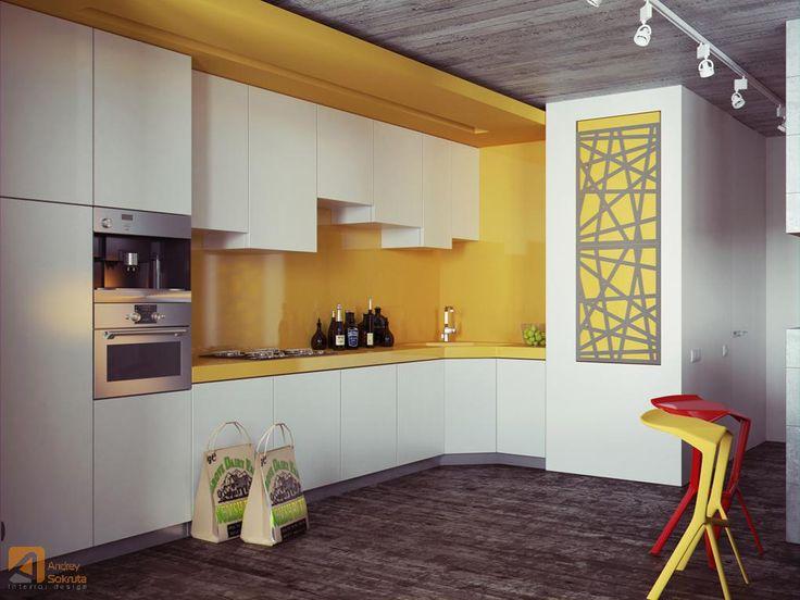 Kitchen Backsplash Yellow yellow kitchens with dark cabinets - pueblosinfronteras