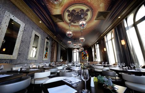 Design formidable pour ce restaurant, bar et club parisien. | Décoration maison, meubles maison jardin et design intérieur sur Artdco.net