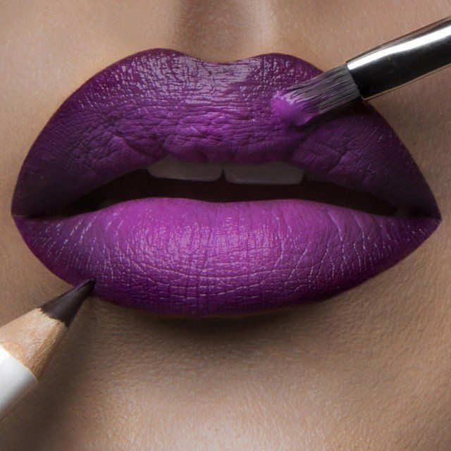 #LipOfTheDay - Black Dahlia + Hoochie | #Sephora Beauty Board