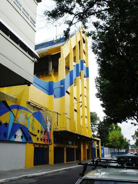 Estadio de Boca Juniors, La Boca, Buenos Aires, Argentina.