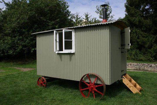 Shepherds hut for sale shepherds hut exterior pinterest shepherds hut gypsy wagon and - The mobile shepherds wagon ...