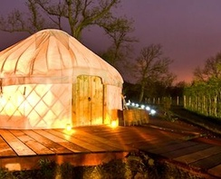 I almost bought a YURT for a place in Arizona (IN THE DESERT) but the wind blows so hard at times changed my mind~