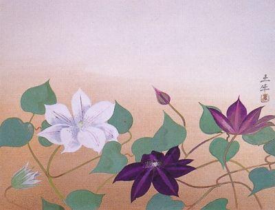 奥村土牛『初夏の花』