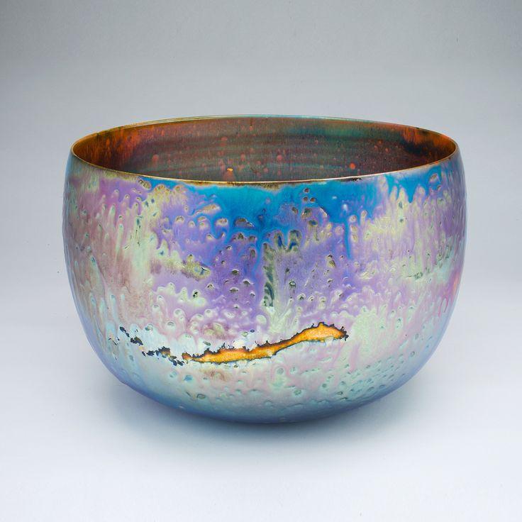Greg Daly, Evening Light, 2013, Lustre glaze ceramic | sabbia gallery