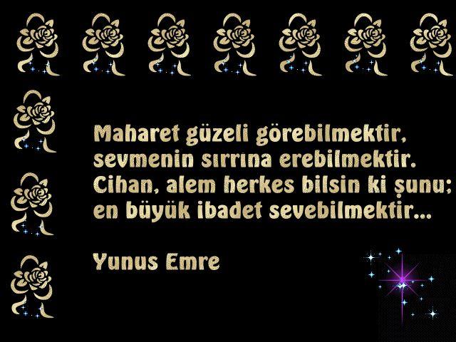 Yunus Emre'nin Resimli Sözleri – BilgiSozler.com