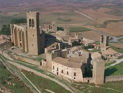 Artajona vista desde el aire #Navarra