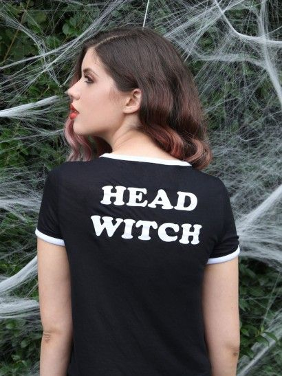 Head Witch Ringer Tee - Gypsy Warrior