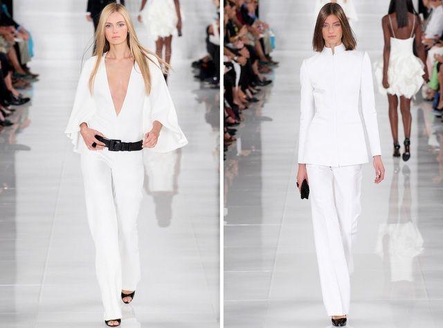 Ralph Lauren -Colección -primavera - verano 2014- Fashion Week Nueva York (23)