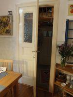 bauteilbörse bremen - Beispiel Wie mache ich eine Tür passend? - Tür mit Scharnier in der Mitte