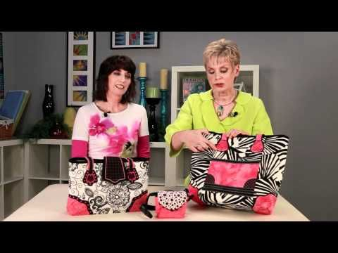 Designer Handbags by Nancy Zieman and Eileen Roche - YouTube