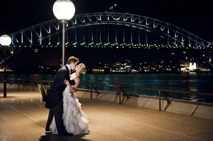 couple portrait opera point marquee