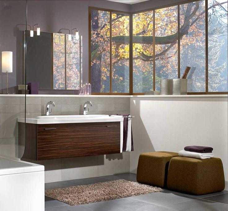 Villeroy \ Boch Central Line Furniture in Maccasser Villeroy - villeroy und boch badezimmermöbel