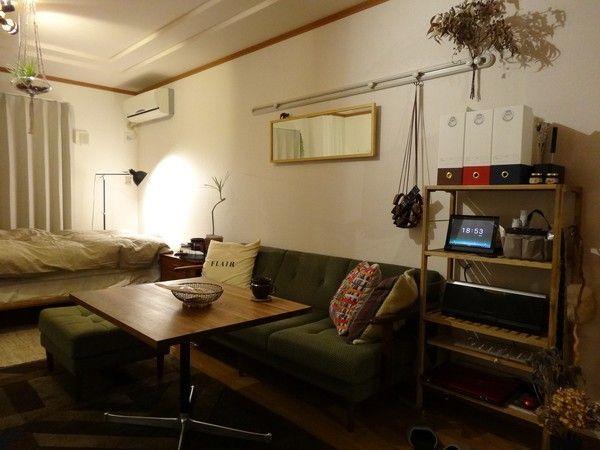 一人暮らしのレイアウト実例まとめ。狭い部屋は家具配置で決まる。   iemo[イエモ]
