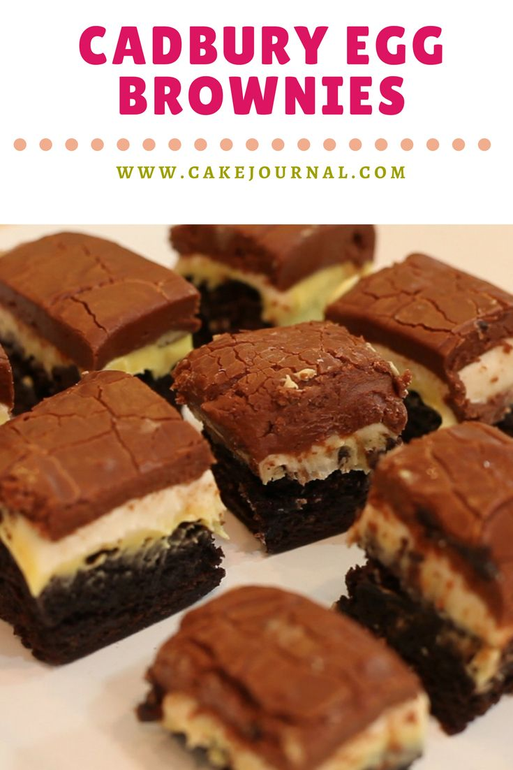 Drool over these brownies this spring!