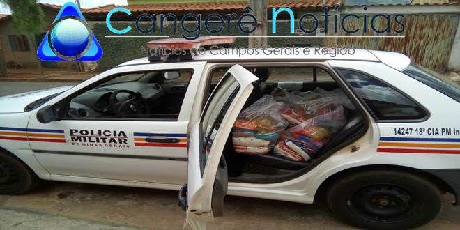 Policia Militar proporciona um natal mais digno a famílias carentes de Campos Gerais-MG