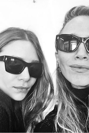 Mary-Kate's and Ashley Olsen's first selfie EVER on Sephora's Instagram.