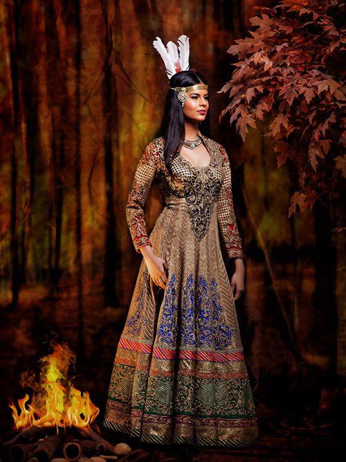 Noivas Indianas x Princesas da Disney - Pocahontas