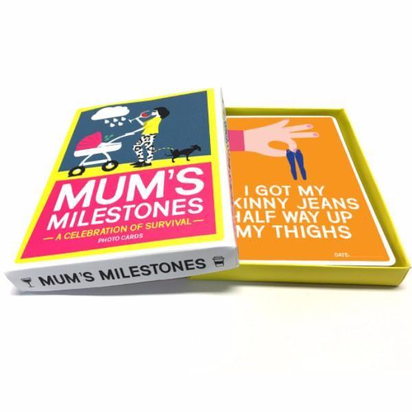 Mums Milestone Cards
