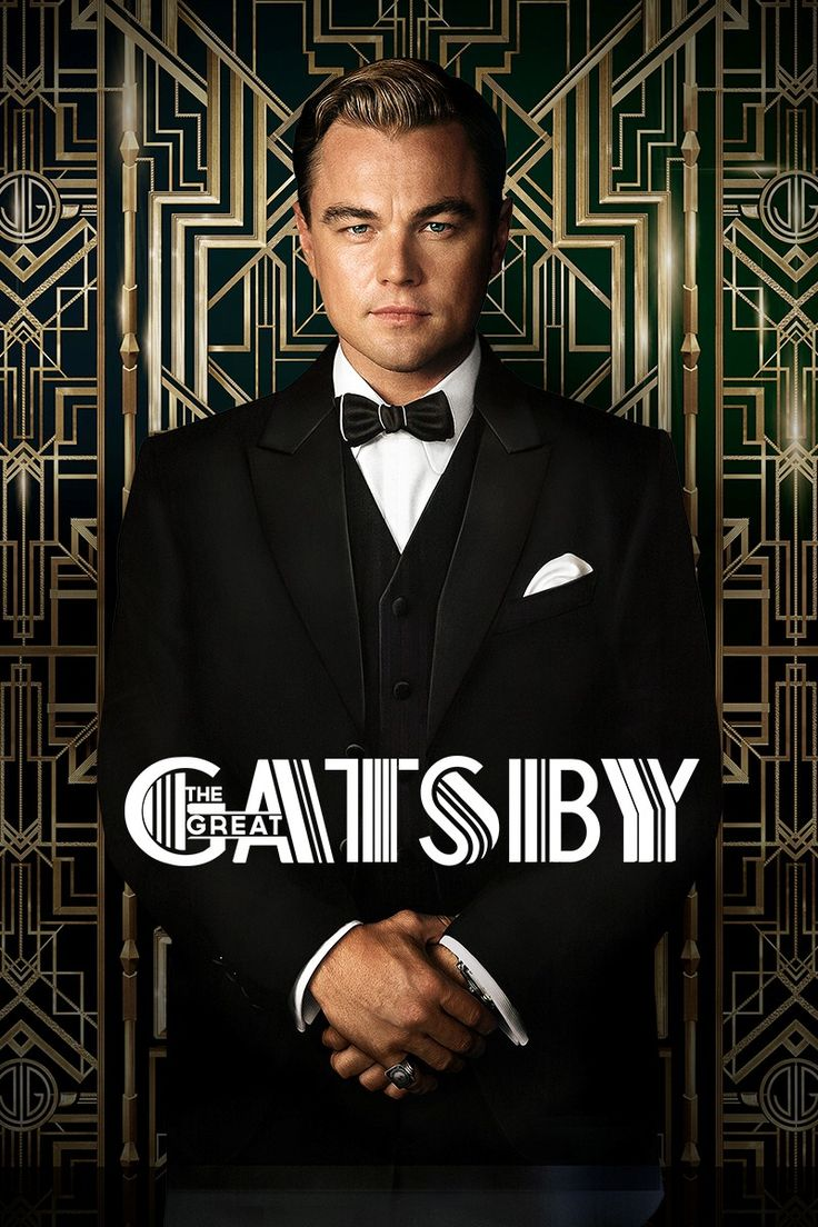 The Great Gatsby, Great book, great movie and holy crap that's one nice looking man!