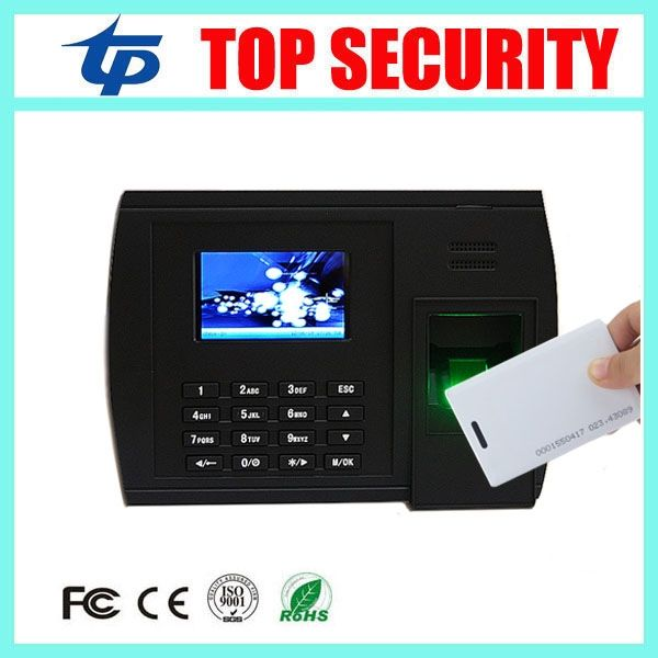 133.00$  Buy now - http://alimtj.worldwells.pw/go.php?t=32701046489 - Biometric fingerprint + RFID card time attendance terminal linux operating system TCP/IP USB fingerprint time attendance clock 133.00$