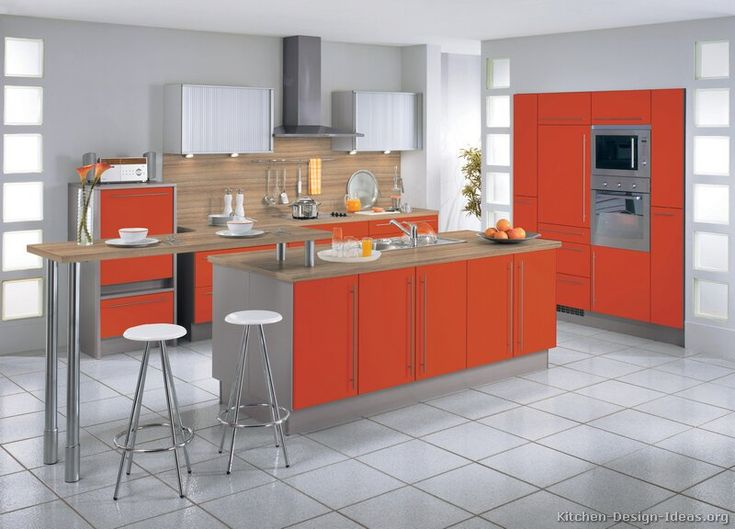 Small Kitchen Design Ideas With Island 72 best orange kitchens images on pinterest | kitchen ideas