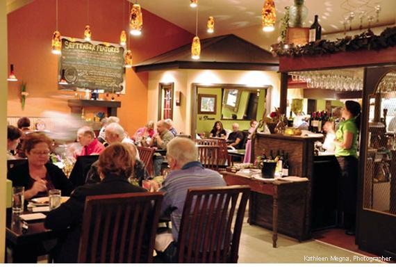 45 minutes downriver from the F & G Grand River retreat is the Twisted Lemon restaurant in Cayuga. Fine dining without the attitude. Highly recommended. Google Image Result for http://www.ontariossouthwest.com/uploads/Full_Restaurant.JPG