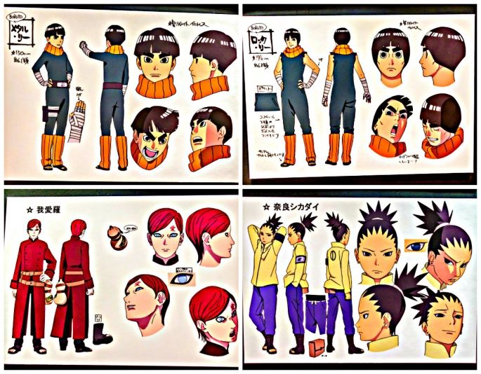Character Design Documentary : Best referencias manga naru images on pinterest