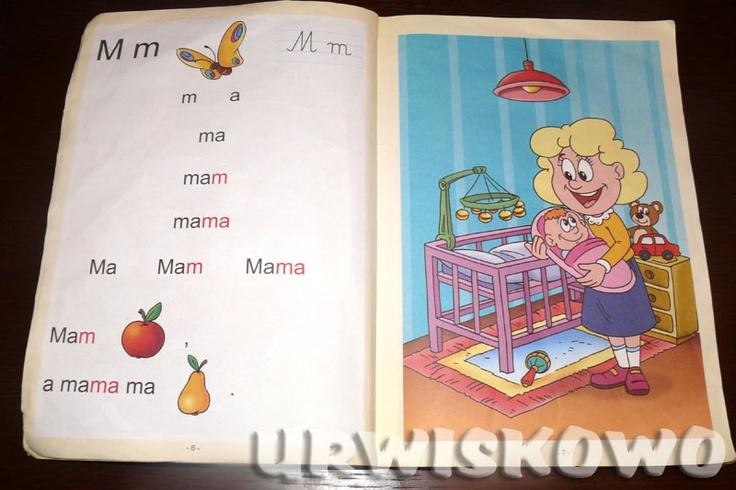 URWISKOWO: Elementarz do czytania metodą sylabową.