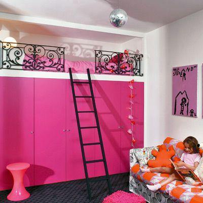 M s de 20 ideas fant sticas sobre habitaciones de chicas - Camas para chicas ...