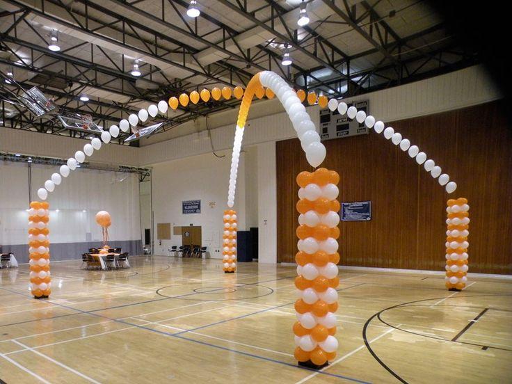 Decorating a gymnasium ceiling transform a gym into a for Halloween dance floor ideas