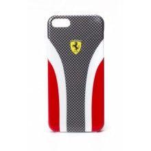 Carcasa iPhone 5 Ferrari - Scuderia Fibra de Carbono Roja  Bs.F. 231,19