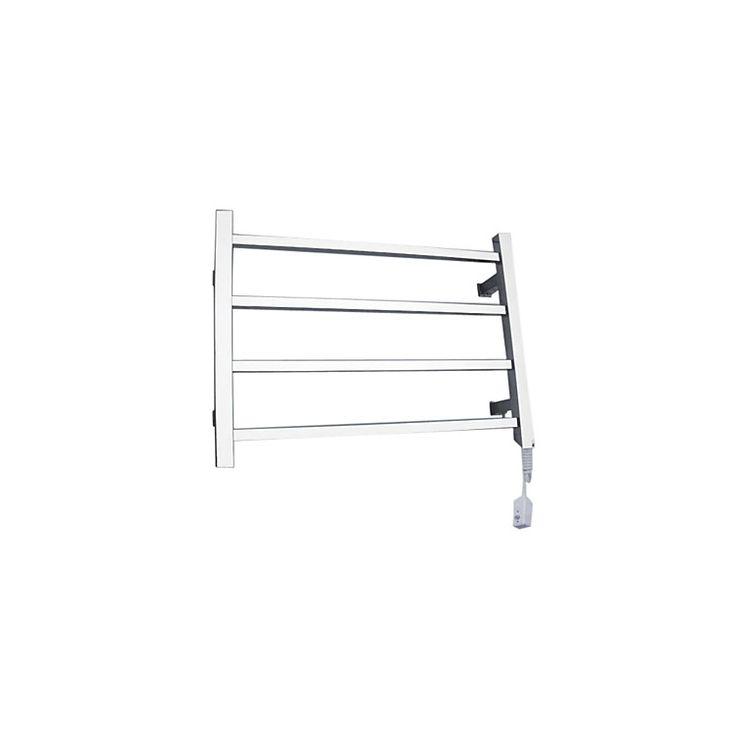 壁掛けタオルウォーマー タオルハンガー+簡易乾燥 ステンレス鋼 40W