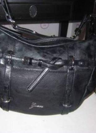 À vendre sur #vintedfrance ! http://www.vinted.fr/sacs-femmes/sac-a-main/26429646-sac-a-main-de-marque-guess-noir-authentique