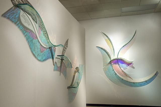 Deanne Sabeck Glass Sculptures