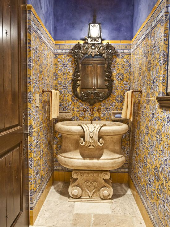 Оформление ванной комнаты в арабском стиле