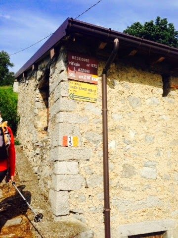 HIKE, BIKE, SLOW FOOD ITALY: Trekking above Lake Como: Monte Serrada to the sum...