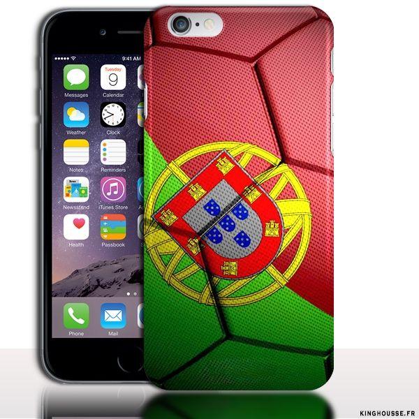 Coque iPhone 6 Foot Equipe Portugal - Coque originale iPhone. #iPhone6 #Portugal #FootBall #Team #Case #Coque