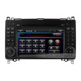 2004-2012 Mercedes Benz A W169 A150 A160 A170 A180 A200 GPS DVD stereo with radio RDS Bluetooth 3G WiFi Canbus 1080P Mirrorlink OBD2  Support Aux in for audio and video input and output with RCA video output, CAM IN video Input, video in, RCA audio FR/FL/RR/RL, subwoofer output and AUX audio R/L input.  Standard AM/FM tuner with RDS, 30 preset radio stations (FM: 3*6, AM: 2*6)