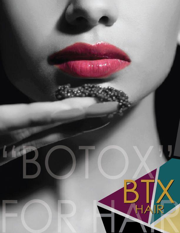 BTX Hair revolutionary anti-aging treatment