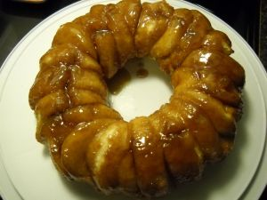 This is about as easy as they come. I made this Sticky Bun Breakfast Ring for my husband's Bible study group and they've requested it several times since then. It's been a hit eve…