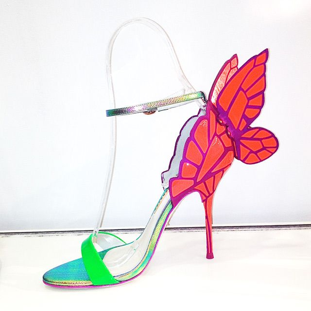 walk the aisle on winged feet....Sophia Webster shoes