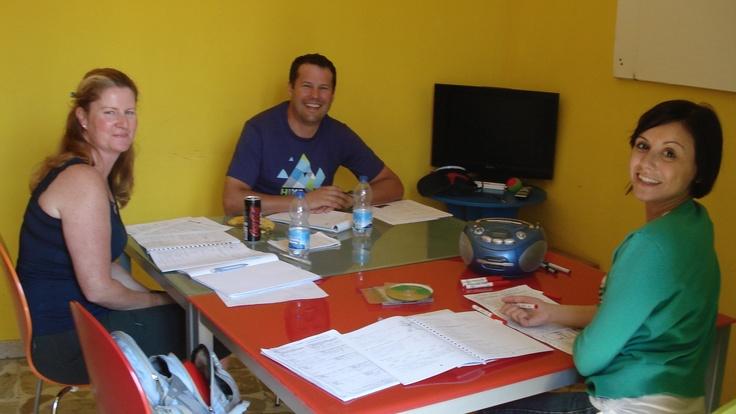 Italian language lesson. May, 2012