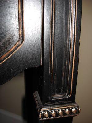 Inspiring Update: Painting Furniture Black